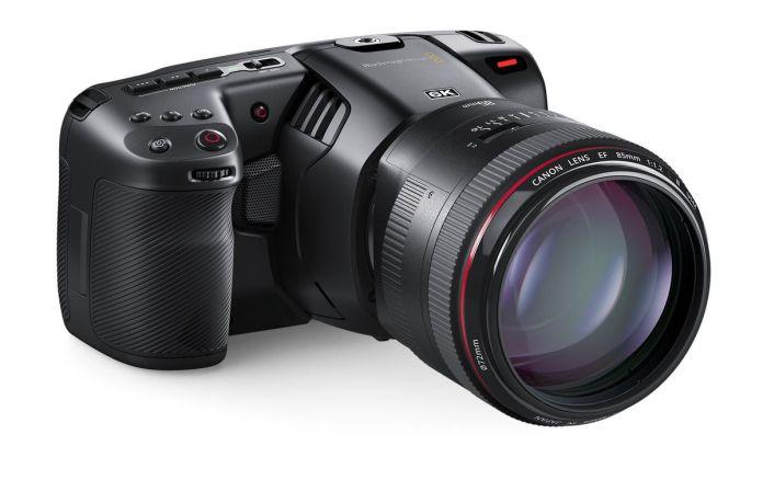 Blackmagic Design Pocket Cinema Camera 6K: Kamera Khusus Video dengan Sensor 6K Super 35 dan Mendukung Lensa Canon EF 1