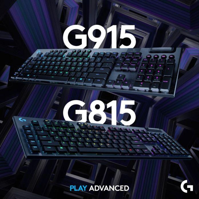 Logitech G915 Lightspeed Wireless: Keyboard Gaming Mekanikal dengan Switch Low-Profile GL Terbaru 2