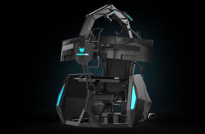 [IFA 2019] Harga Lebih Terjangkau, Acer Umumkan Kursi Gaming Predator Thronos Air 1