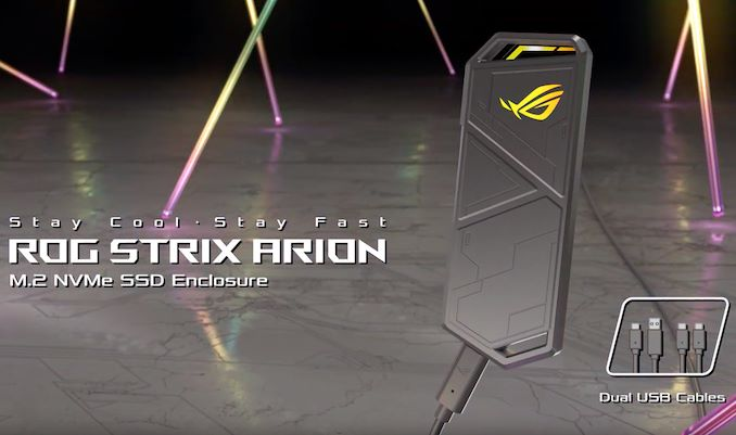 ASUS ROG Strix Arion: Casing SSD NVMe Khusus untuk Gamer 1