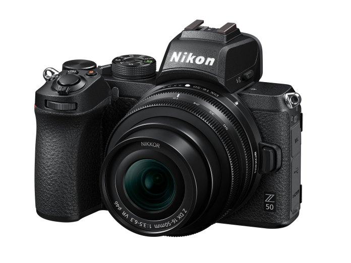 Nikon Z50: Mirrorless Pertama Nikon dengan Sensor APS-C dan Z-Mount 1