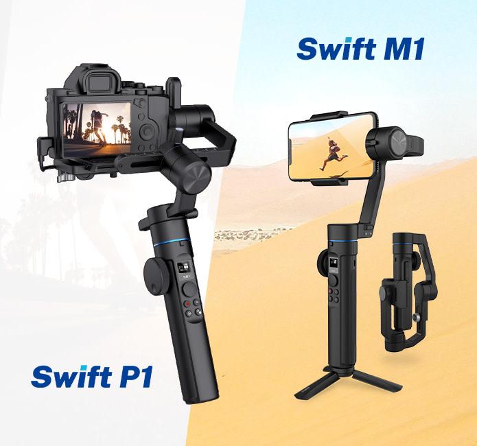 sirui-swift-m1-dan-p1-gimbal-terjangkau-untuk-smartphone-dan-kamera-mirrorless