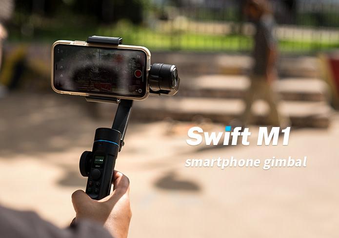Sirui Swift M1 dan P1: Gimbal Terjangkau untuk Smartphone dan Kamera Mirrorless 2