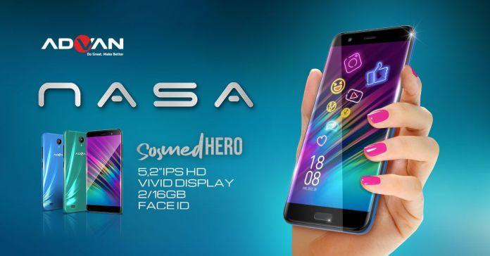 ADVAN NASA, Smartphone 700 Ribuan dengan Layar IPS Untuk Para Pecinta Sosial Media 1