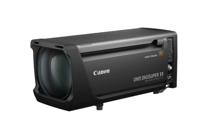 Canon UHD-DIGISUPER 51 dan 7×10.7 KAS S: Duo Lensa Pertama Canon untuk Kamera Broadcast 8K