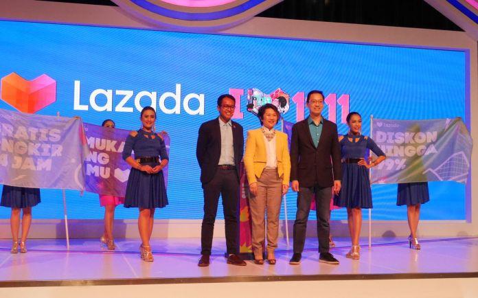 Sambut Festival 11.11 Lazada Hadirkan Diskon Terbesar dan Voucher Dengan Total 11 Miliar Rupiah