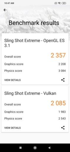Redmi Note 8 Pro 3D Mark