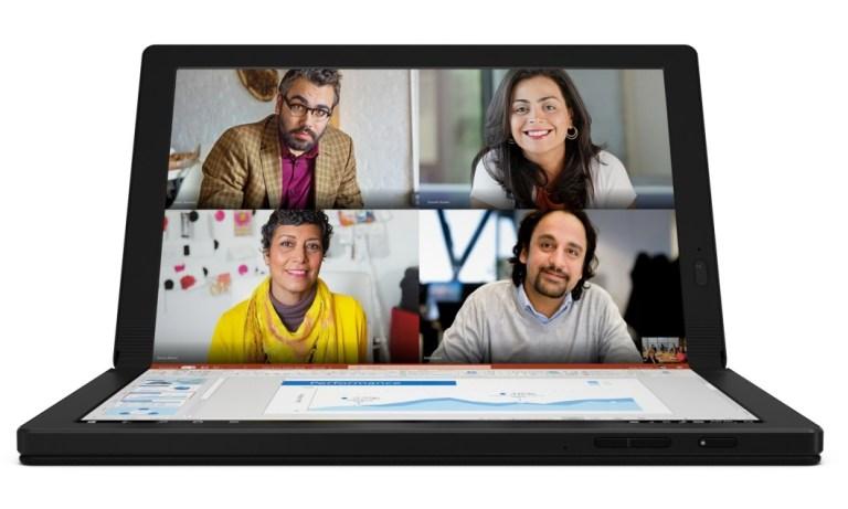 [CES 2020] Lenovo ThinkPad X1 Fold: Tablet PC Windows 10 Pertama Lenovo dengan Layar Lipat 13