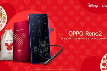 OPPO Buka Pemesanan Reno2 Year of the Mouse Limited Edition dengan Bonus Enco Q1 22