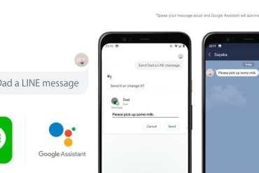 LINE Kini Bisa Kirim Pesan Lewat Perintah Suara Berkat Google Assistant 14 aplikasi line, Google Assistant, harga, LINE, spesifikasi