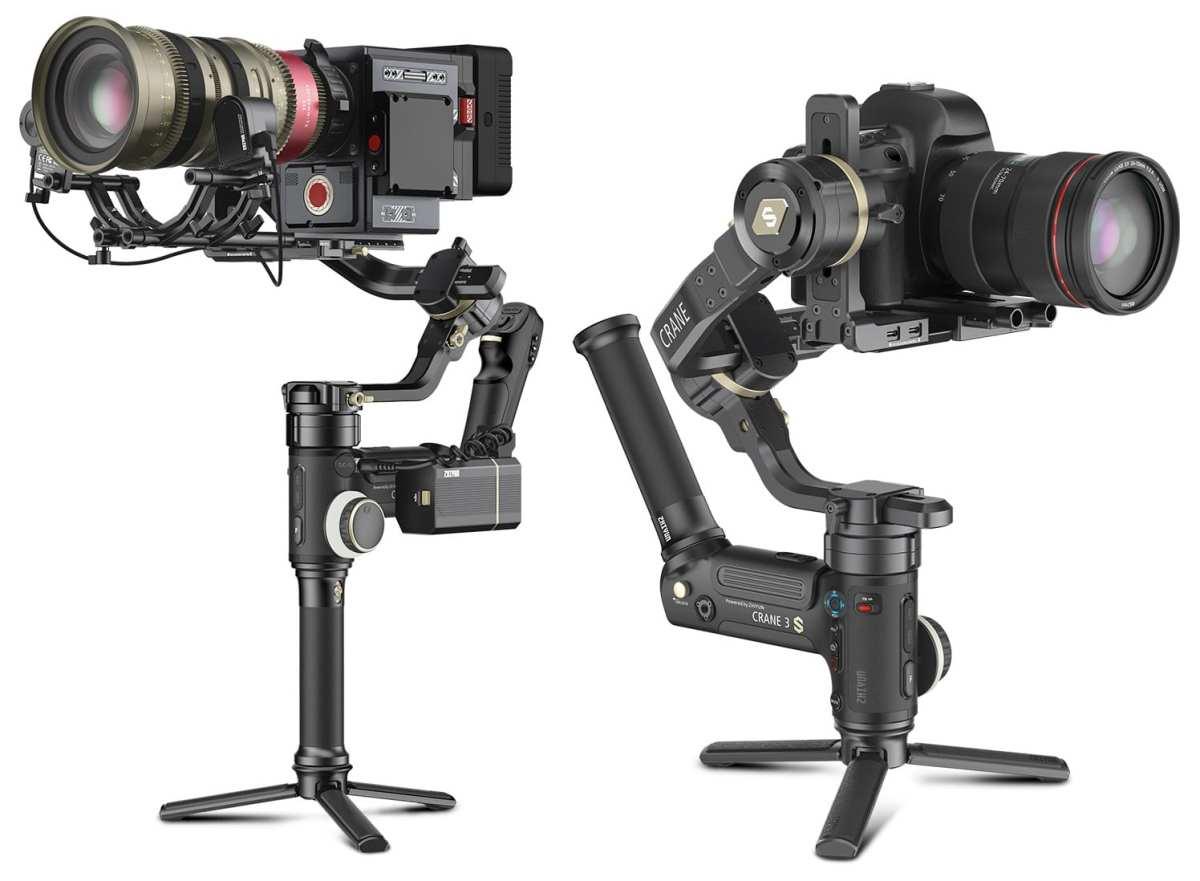 Zhiyun Crane 3S: Gimbal Kamera dengan Konsep Modular Untuk Videografer Profesional 12 fitur Zhiyun Crane 3S, harga Zhiyun Crane 3S, spesifikasi Zhiyun Crane 3S, zhiyun, zhiyun crane 3s
