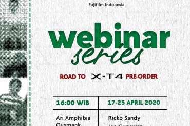 Belajar Fotografi Gratis di Fujifilm Indonesia Webinar Series 13 belajar fotografi online gratis, fujifilm, fujifilm webinar series, fujifilm X-T4, kamera mirrorless fujifilm