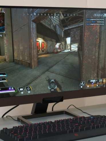 BENQ EX2780Q gaming samping