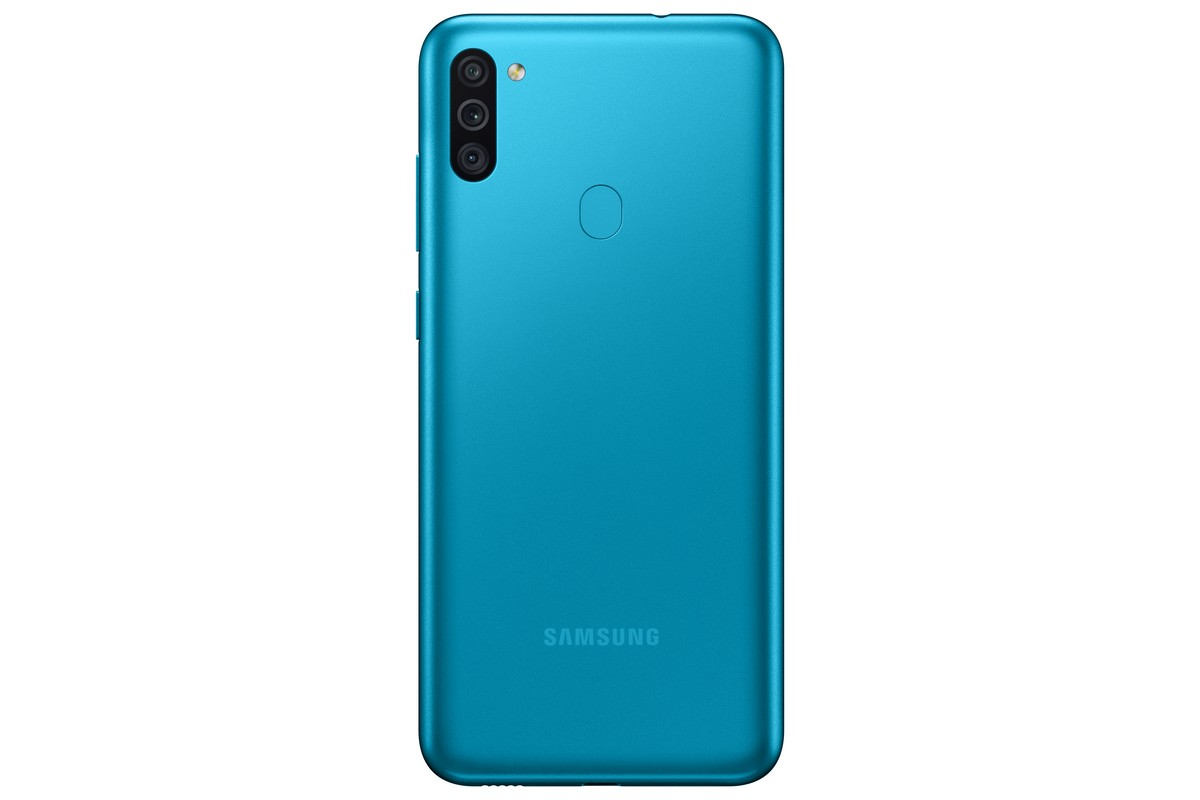 Galaxy M11 Rear Look Blue