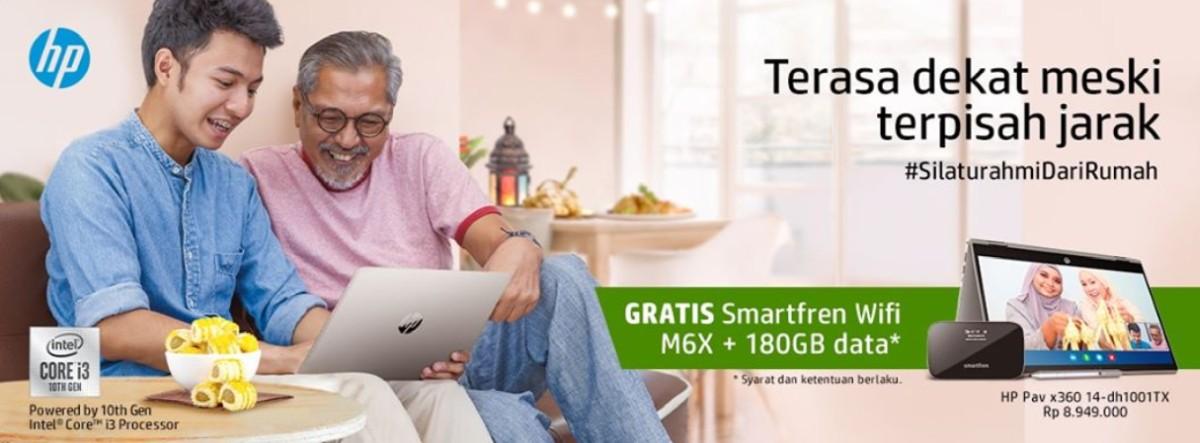 Gandeng Smartfren, HP Gelar Promo #SilaturahmidariRumah 16 harga laptop hp, HP, Promo #SilaturahmidariRumah, promo ramadhan HP, promo ramadhan smartfren