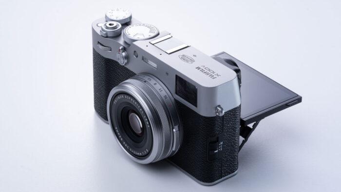 Fujifilm X100V screen 1