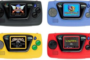 SEGA Umumkan Konsol Genggam Game Gear Micro dengan 4 Varian Warna 10 gaming, konsol, Sega, SEGA Game Gear Micro