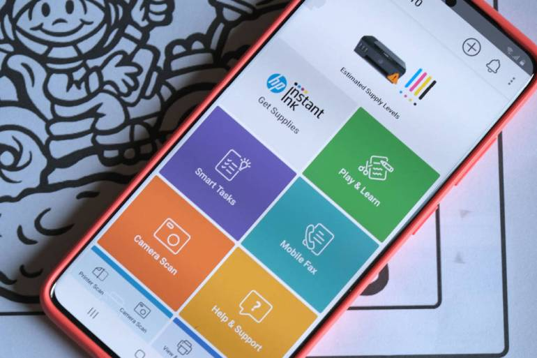 hp print play learn at smart app