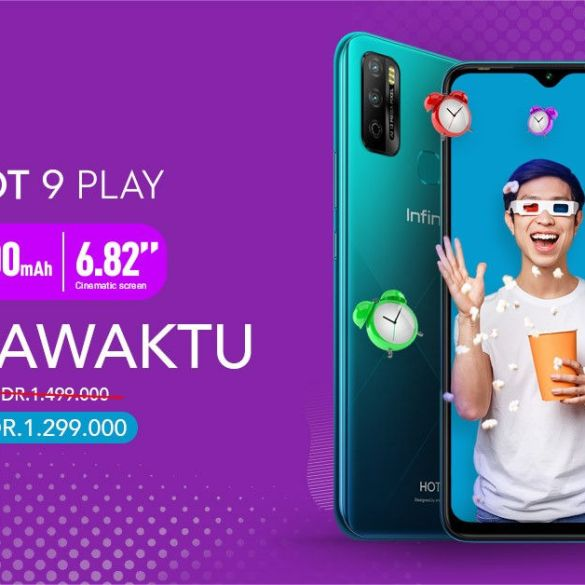 Infinix Hot 9 Play Resmi Dijual dengan Harga 1,3 Juta Rupiah 10 Smartphone