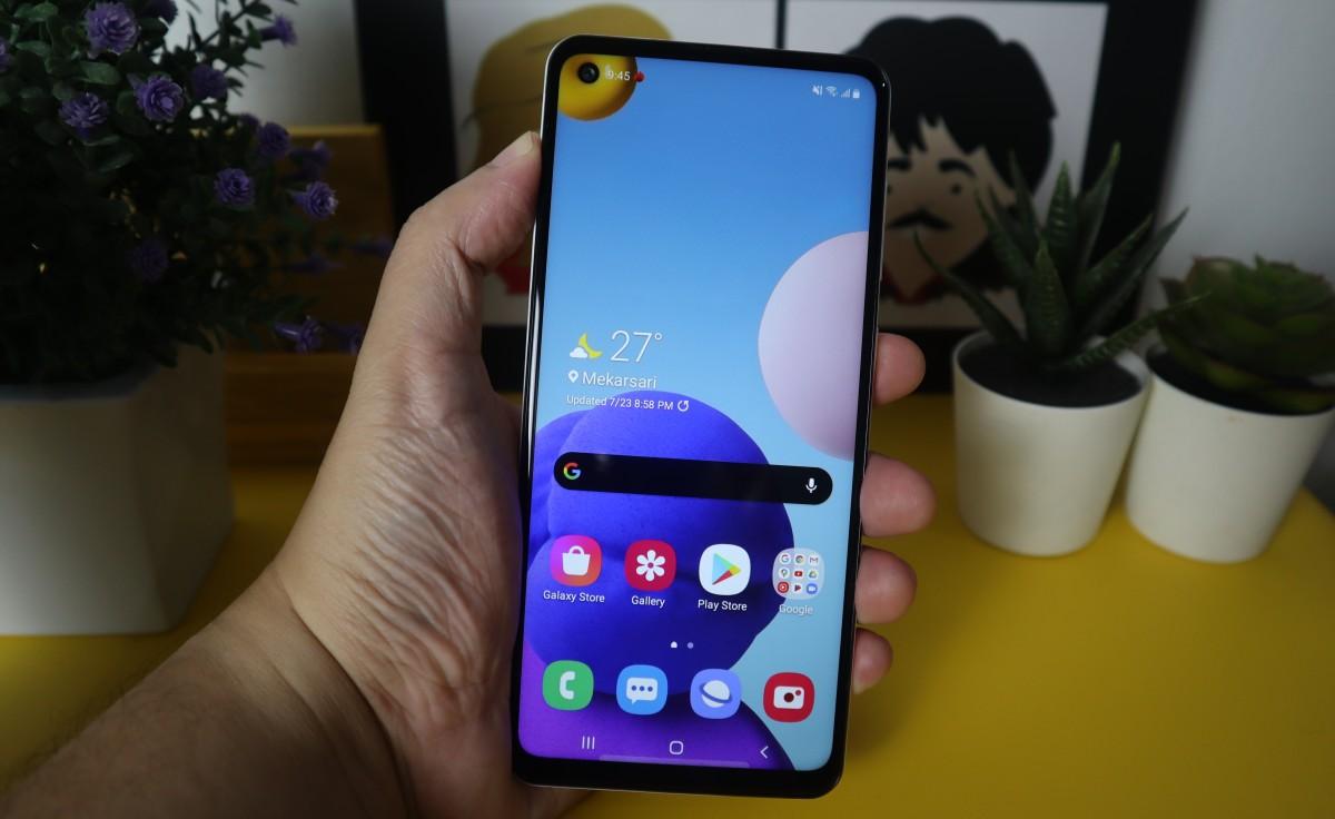 Samsung Galaxy A21s White 6