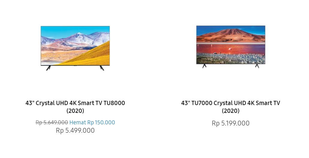 Samsung TU8000 dan TU7000 1