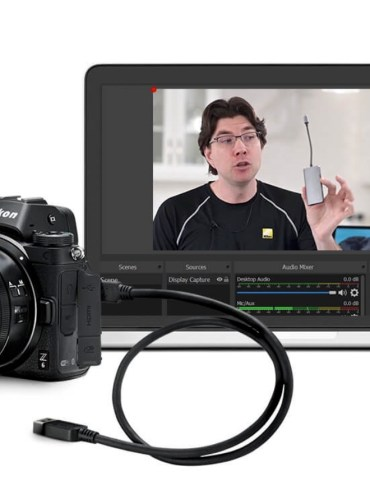 Nikon Webcam Utility software 1