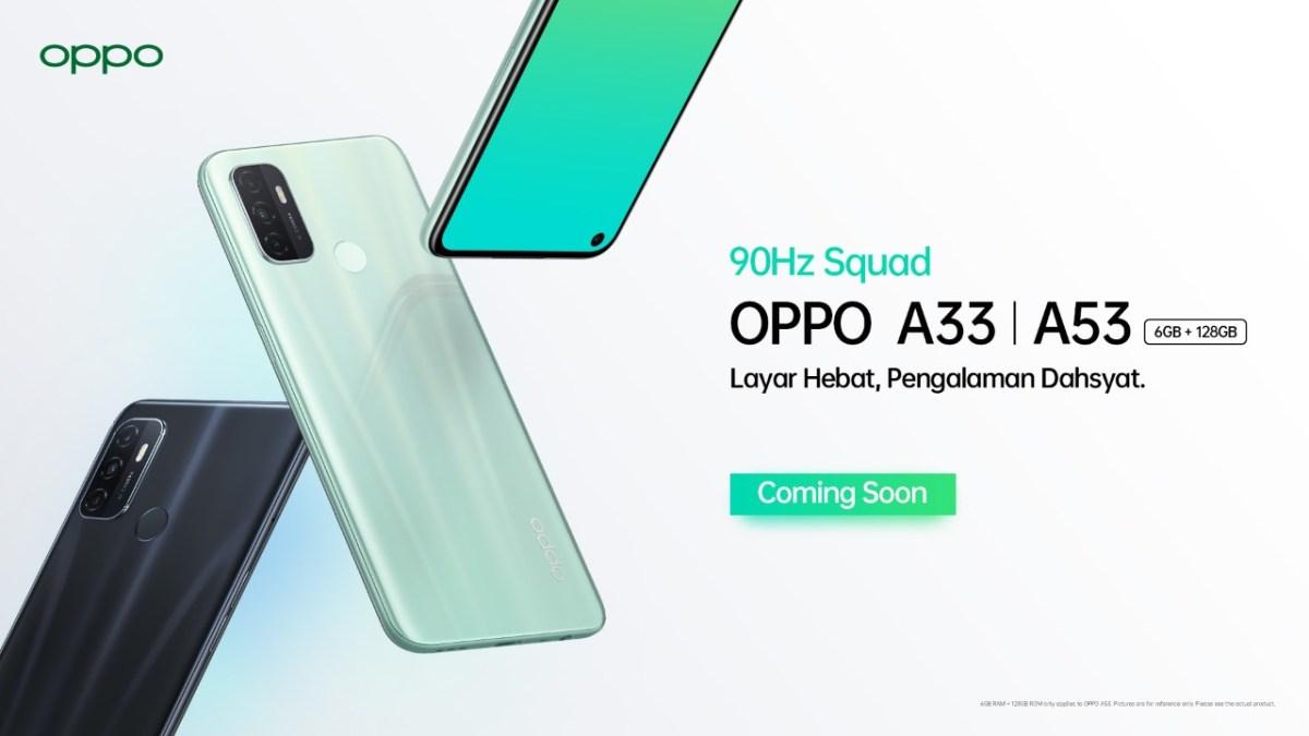 OPPO A33 dan OPPO A53