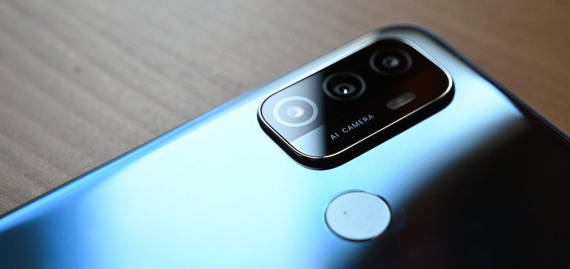OPPO A53 ai camera
