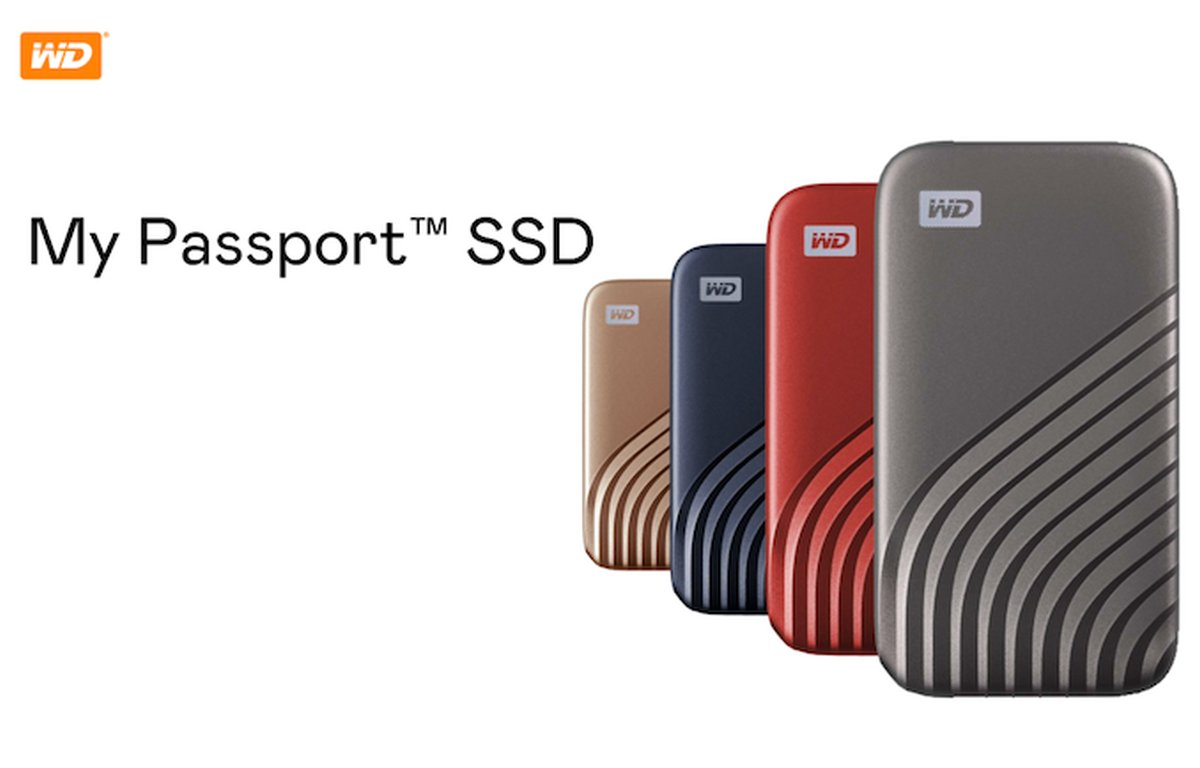 WD My Passport SSD 1