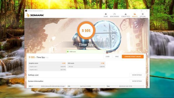benchmark HP Pavilion Gaming 15 dk0043tx-3