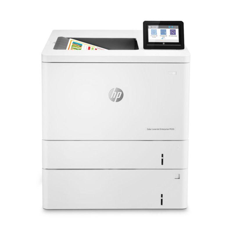printer hp laserjet m555x