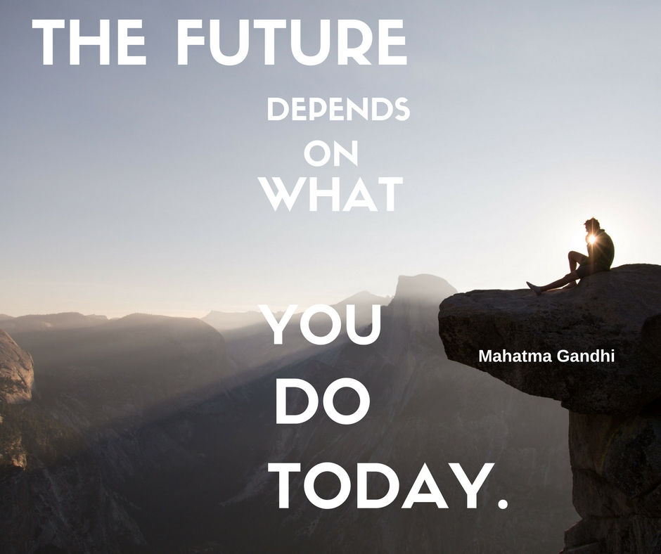 The future depends on what you do today  Best motivational quote day     Best motivational quote day      Quote Of The Day