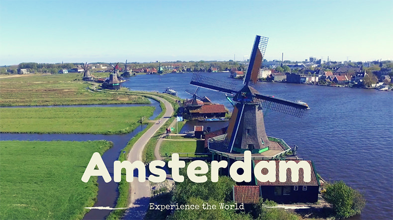 Amsterdam – Bike – Fun and Adventure – First Vlog
