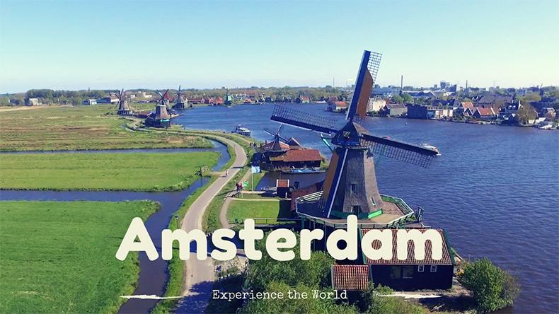 Amsterdam – Bike – Fun and Adventure – First Vlog