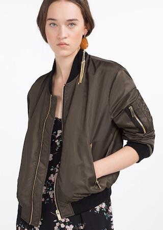 Zara - Bomber Jacket