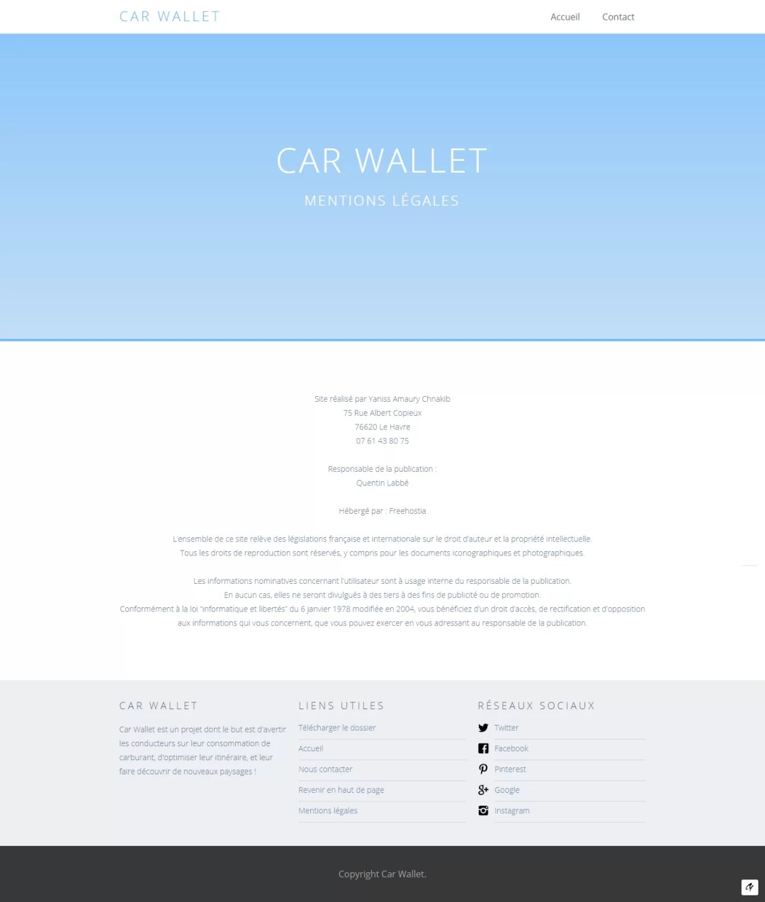 page ml carwallet