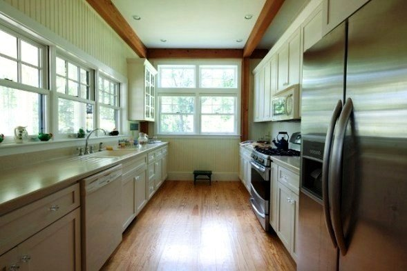 Open Galley Kitchen Floor Plans