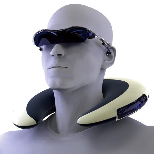 Digital Neck Pillow