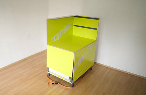 bedroom in a box | yanko design