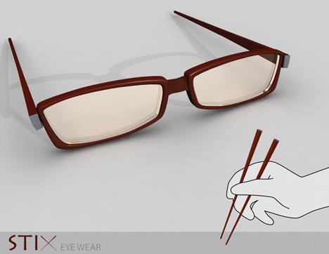 Comer con tus gafas