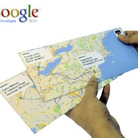 Google Envelopes - concept way of sending mails