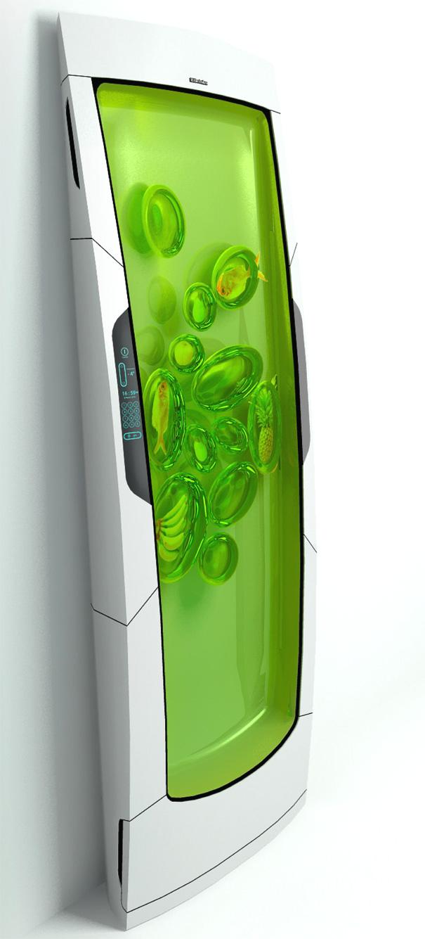 Electrolux Bio Robot Refrigerator by Yuriy Dmitriev