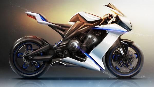 Bmw Motorrad Supersport Concept By Fr 233 D 233 Ric Le Sciellour