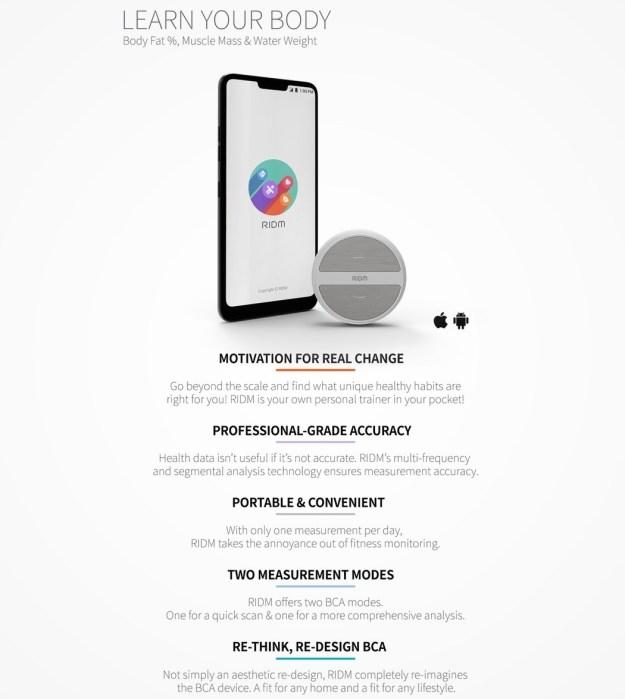 ridm_portable_bca_device_10 The Futuristic Palm-sized Sensor that can Analyze your Body Fat Percentage Design Random Technology