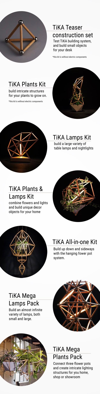 tika_modular_design_kit_02 Design-driven Building Sticks for the Curious and Aesthetically-inclined Design Random