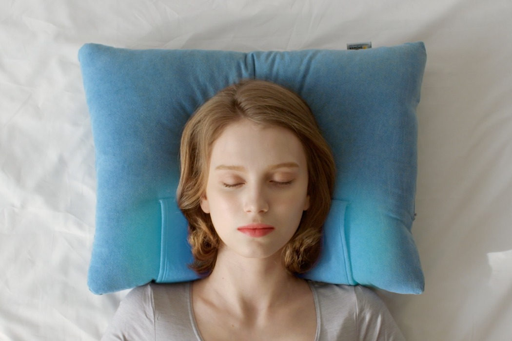 this pillow has a built in cooling pad