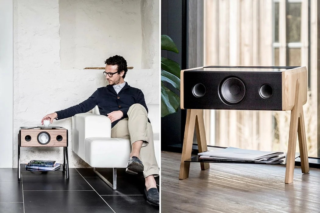 this side table speaker is every