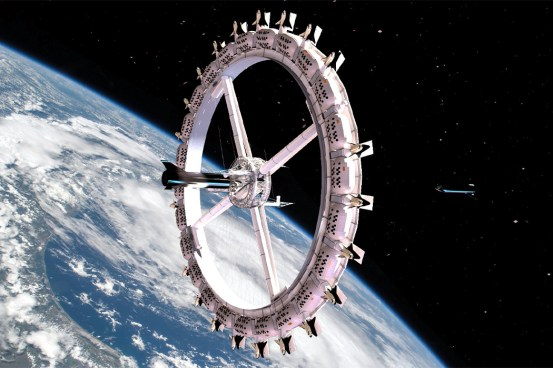 Space-friendly architecture designed to be home to future people living on the Moon or even Mars!