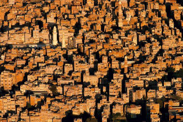 Sanaa, Yémen - Yann Arthus-Bertrand Photographie