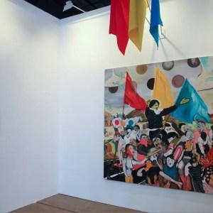 Vista de exposición en SUMMA 2014